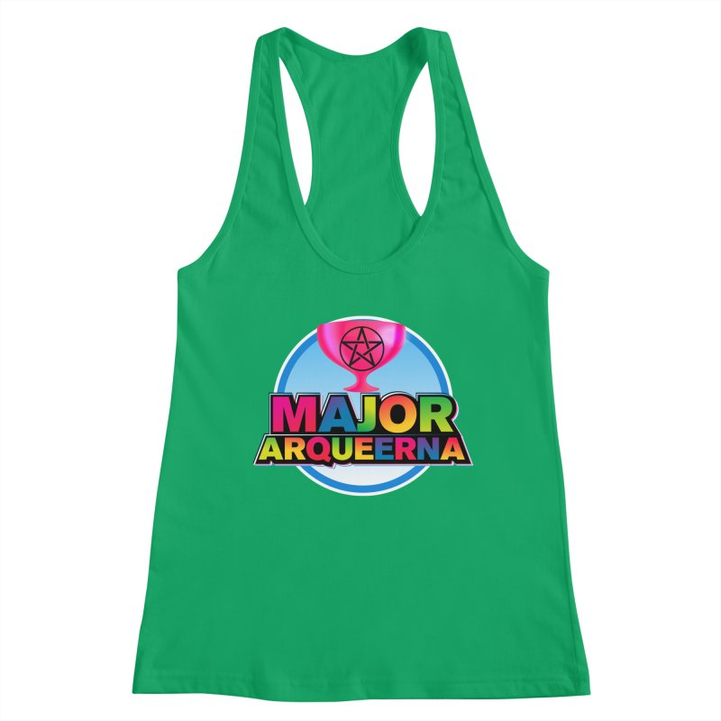 Major Arqueerna Logo Women's Tank by majorarqueerna's Artist Shop