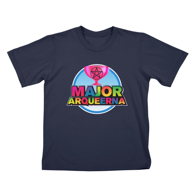 Major Arqueerna Logo Kids T-Shirt by majorarqueerna's Artist Shop