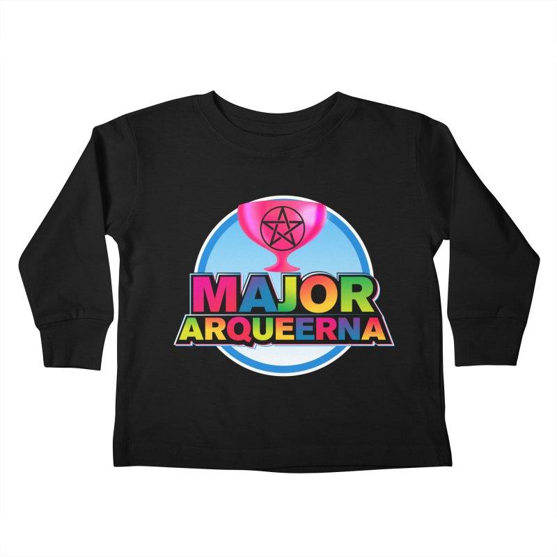 Major Arqueerna Logo Kids Toddler Longsleeve T-Shirt by majorarqueerna's Artist Shop