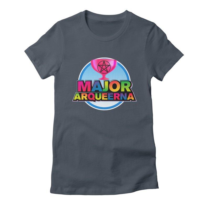 Major Arqueerna Logo Women's T-Shirt by majorarqueerna's Artist Shop