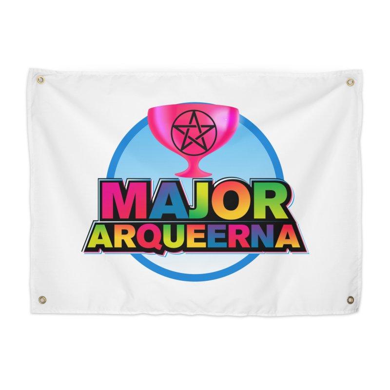 Major Arqueerna Logo Home Tapestry by majorarqueerna's Artist Shop