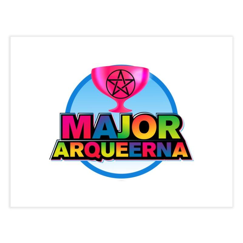 Major Arqueerna Logo Home Fine Art Print by majorarqueerna's Artist Shop