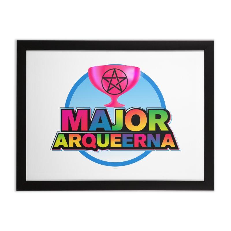 Major Arqueerna Logo Home Framed Fine Art Print by majorarqueerna's Artist Shop