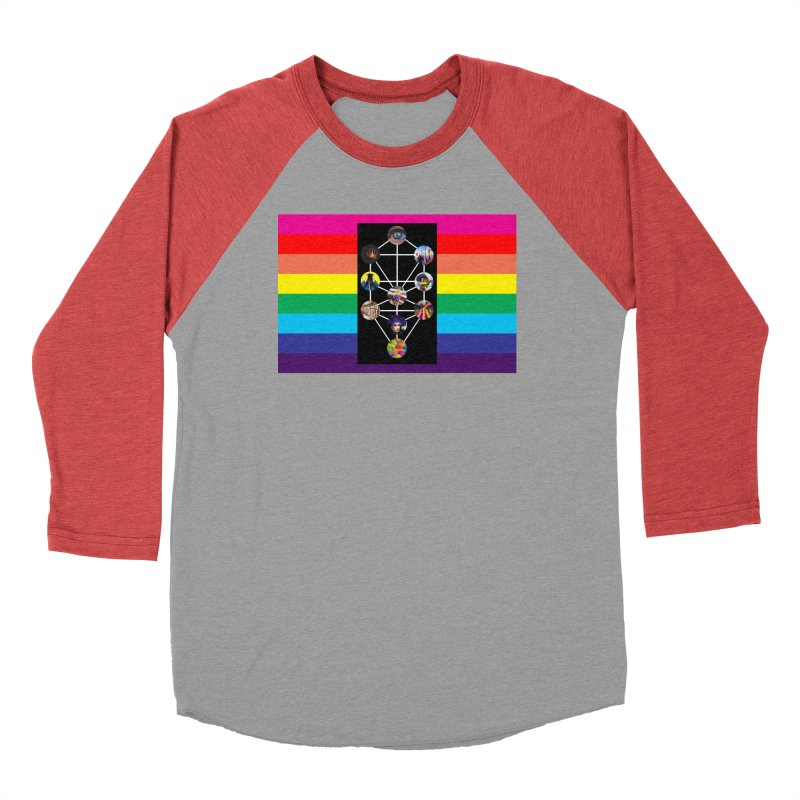 Queer Tree of Life with Flag Men's Longsleeve T-Shirt by majorarqueerna's Artist Shop