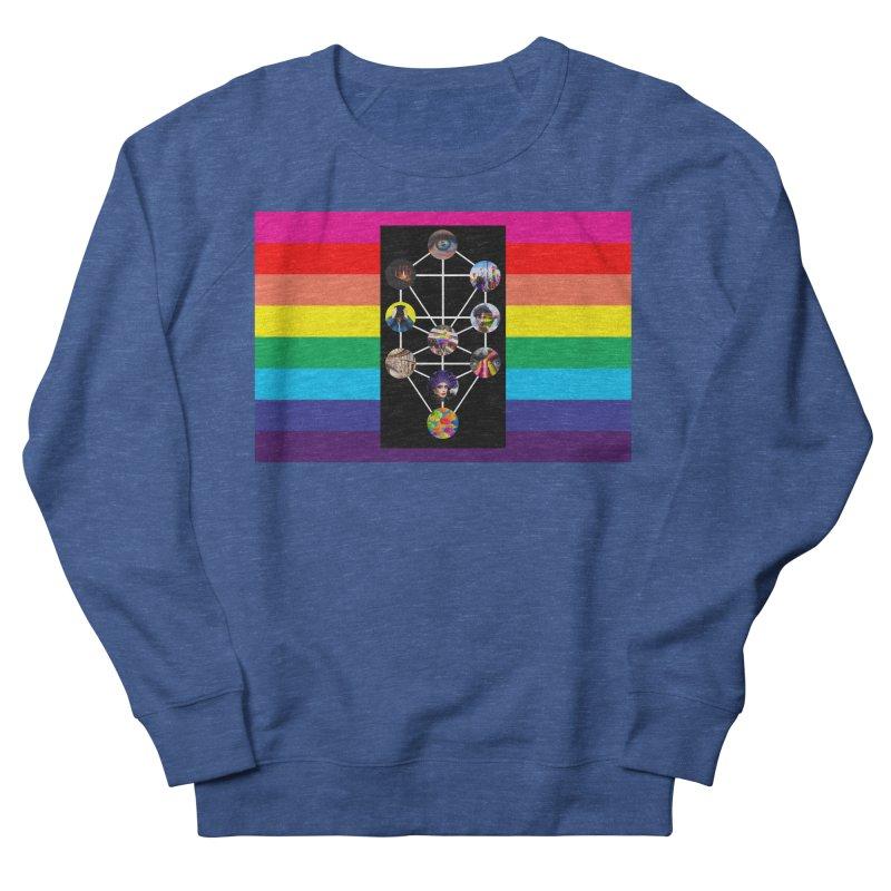 Queer Tree of Life with Flag Men's Sweatshirt by majorarqueerna's Artist Shop