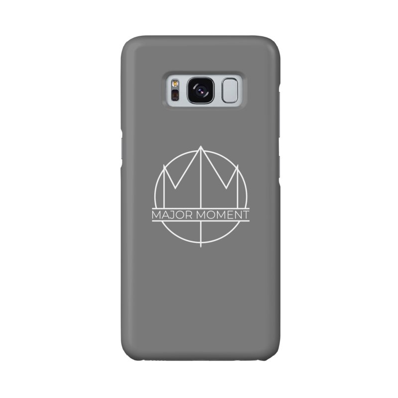 Major Moment Logo White in Galaxy S8 Phone Case Slim by Major Moment