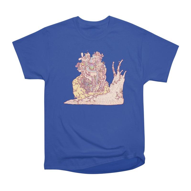 slow happy garden Women's Heavyweight Unisex T-Shirt by makapa's Artist Shop