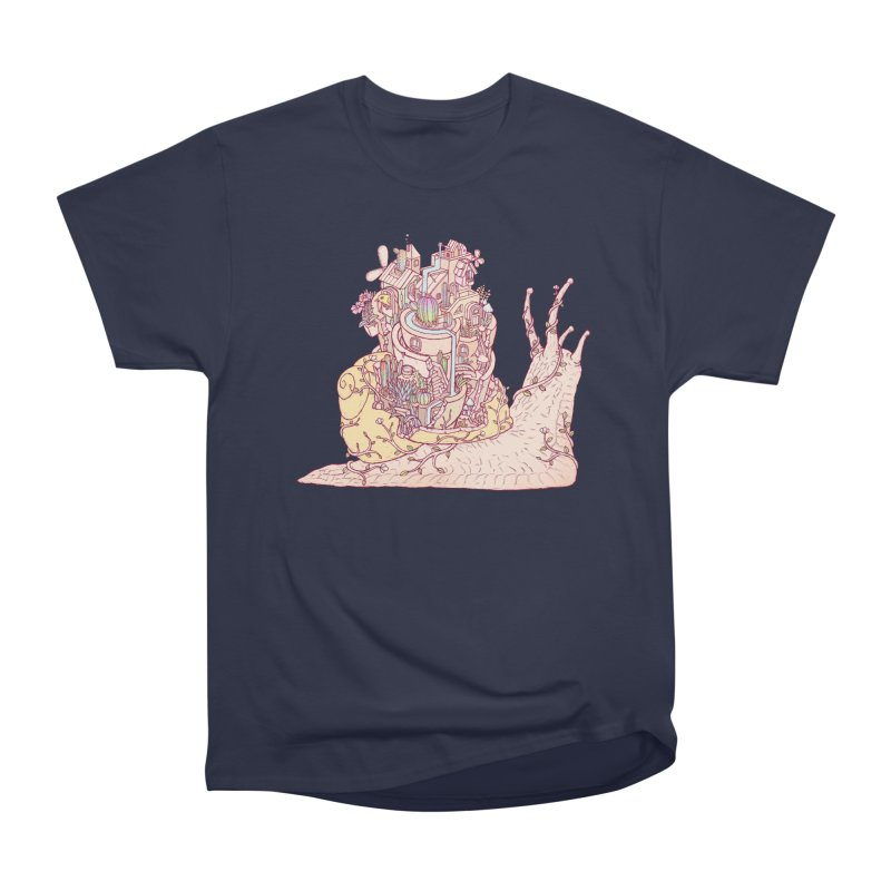 slow happy garden Men's Heavyweight T-Shirt by makapa's Artist Shop