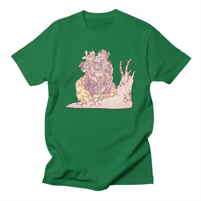 slow happy garden Women's Regular Unisex T-Shirt by makapa's Artist Shop