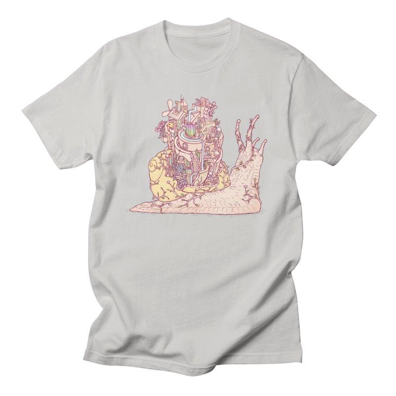 slow happy garden Men's Regular T-Shirt by makapa's Artist Shop