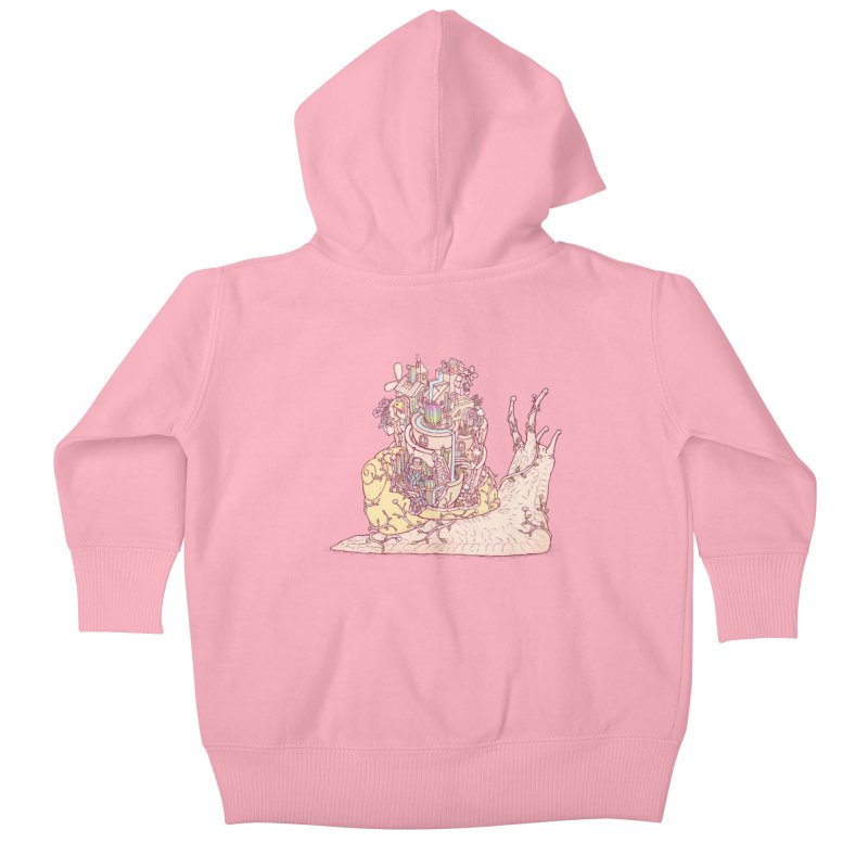 slow happy garden Kids Baby Zip-Up Hoody by makapa's Artist Shop