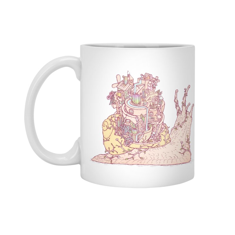 slow happy garden Accessories Standard Mug by makapa's Artist Shop