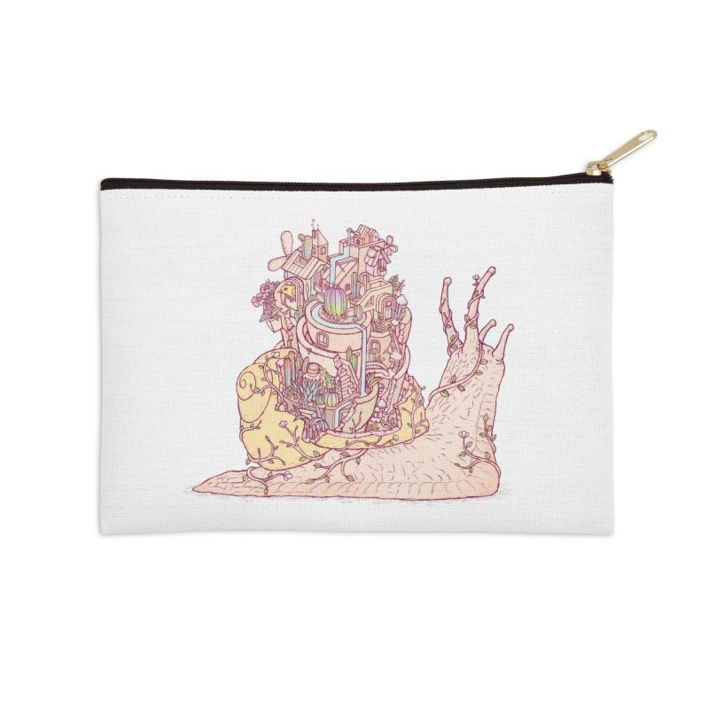 slow happy garden Accessories Zip Pouch by makapa's Artist Shop