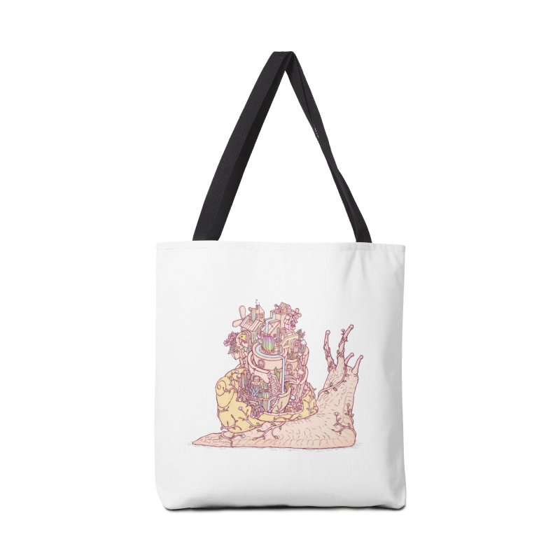 slow happy garden Accessories Tote Bag Bag by makapa's Artist Shop