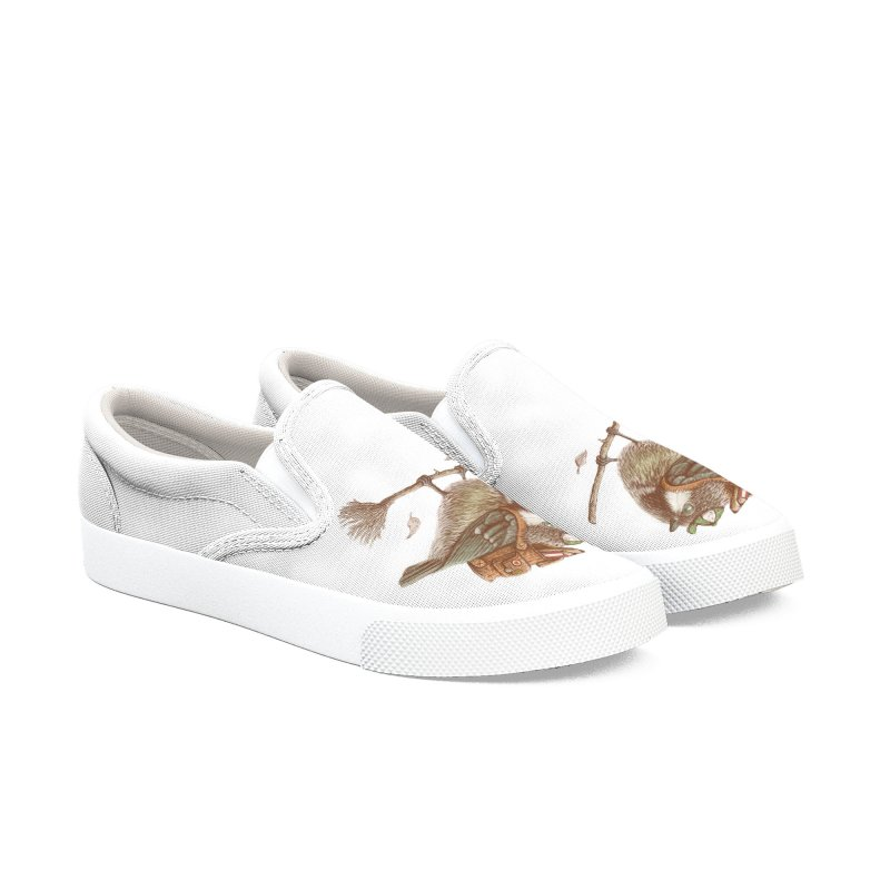 back to school Women's Slip-On Shoes by makapa's Artist Shop