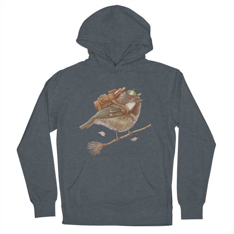 back to school Men's French Terry Pullover Hoody by makapa's Artist Shop