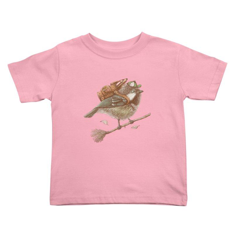 back to school Kids Toddler T-Shirt by makapa's Artist Shop