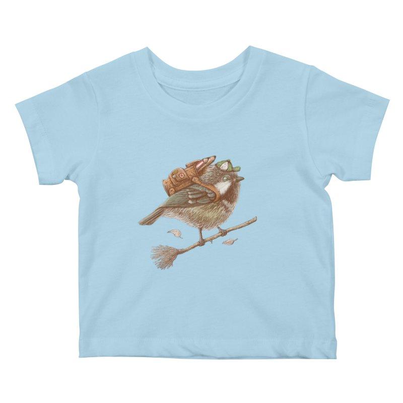 back to school Kids Baby T-Shirt by makapa's Artist Shop