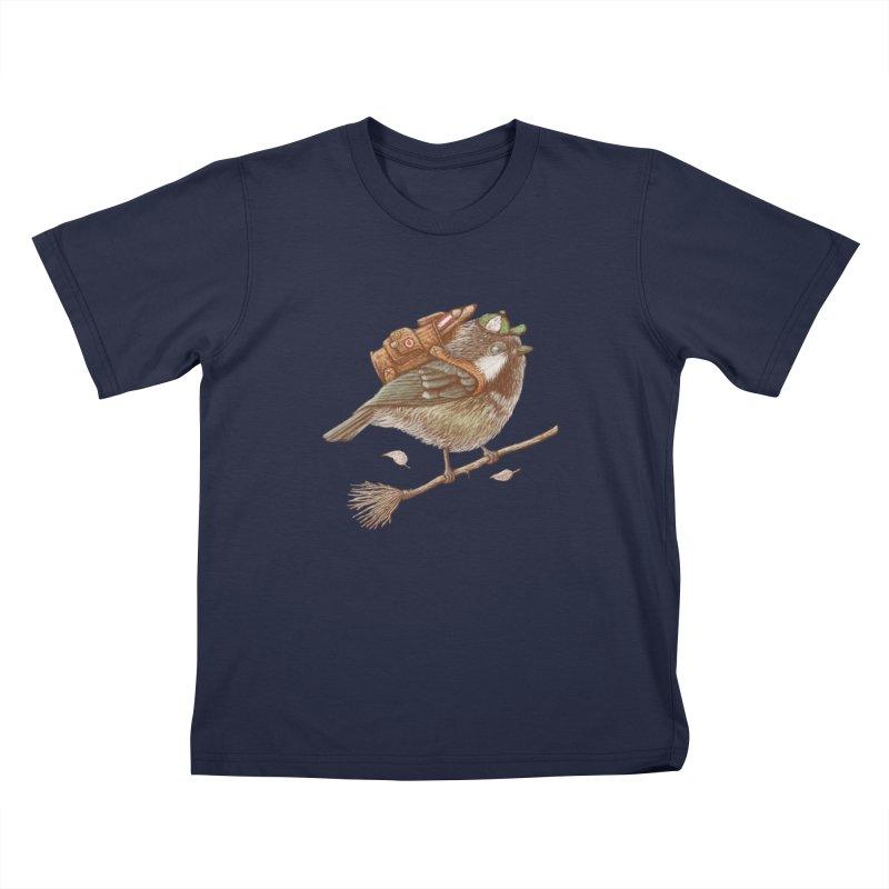 back to school Kids T-Shirt by makapa's Artist Shop