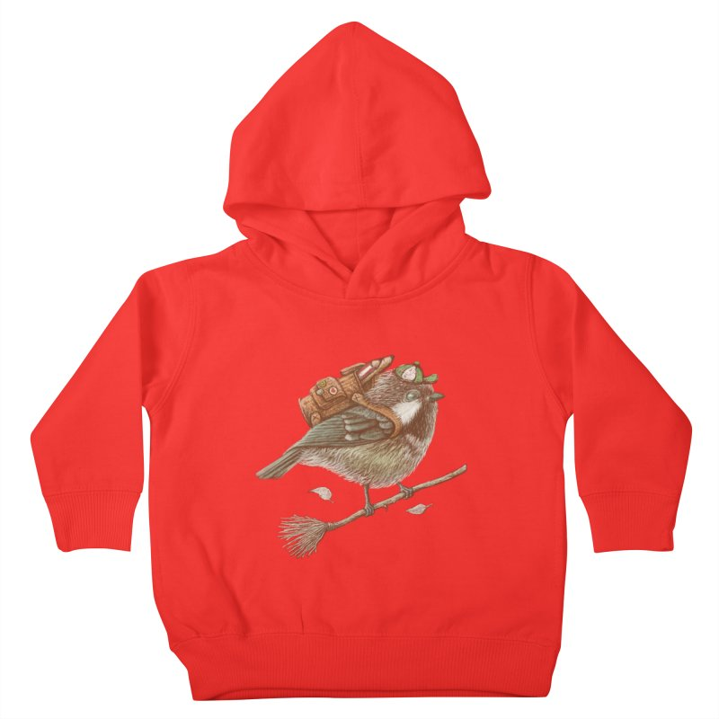 back to school Kids Toddler Pullover Hoody by makapa's Artist Shop
