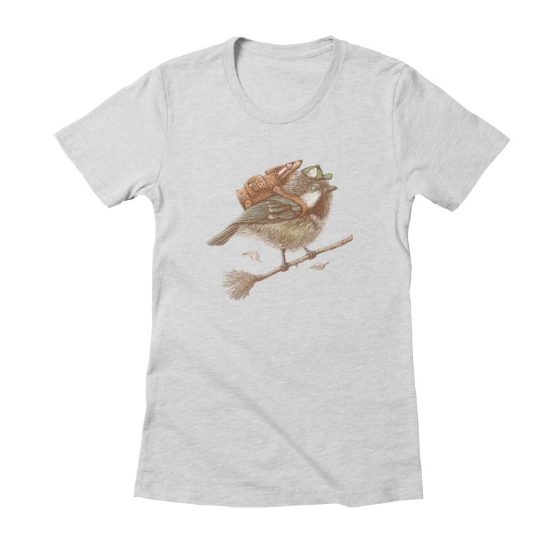 back to school Women's Fitted T-Shirt by makapa's Artist Shop