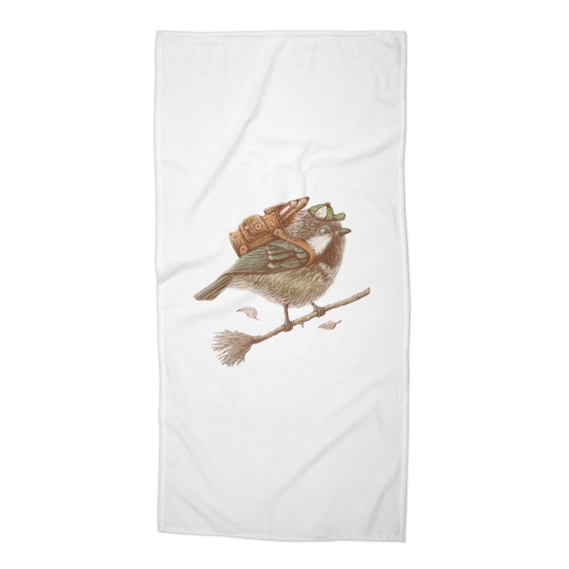 back to school Accessories Beach Towel by makapa's Artist Shop