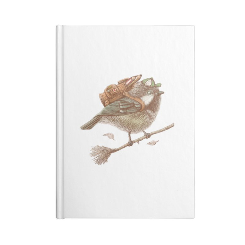 back to school Accessories Lined Journal Notebook by makapa's Artist Shop