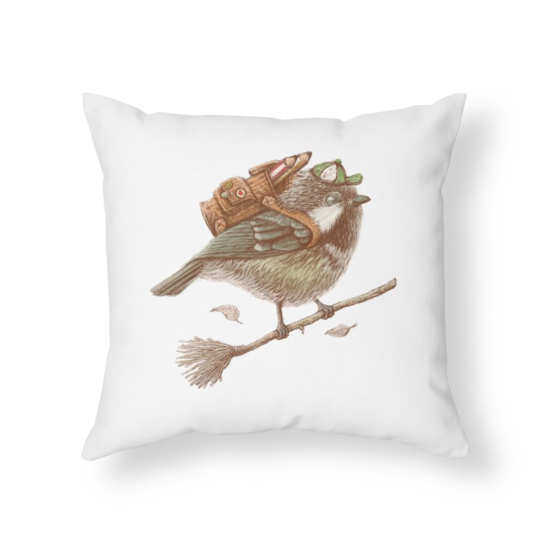 back to school Home Throw Pillow by makapa's Artist Shop
