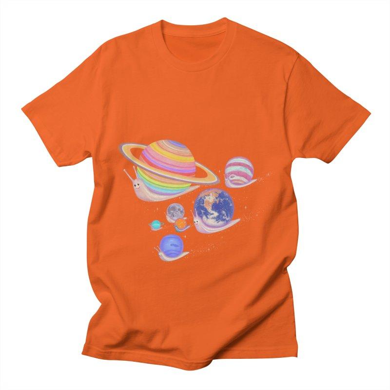 universe walk Women's Unisex T-Shirt by makapa's Artist Shop