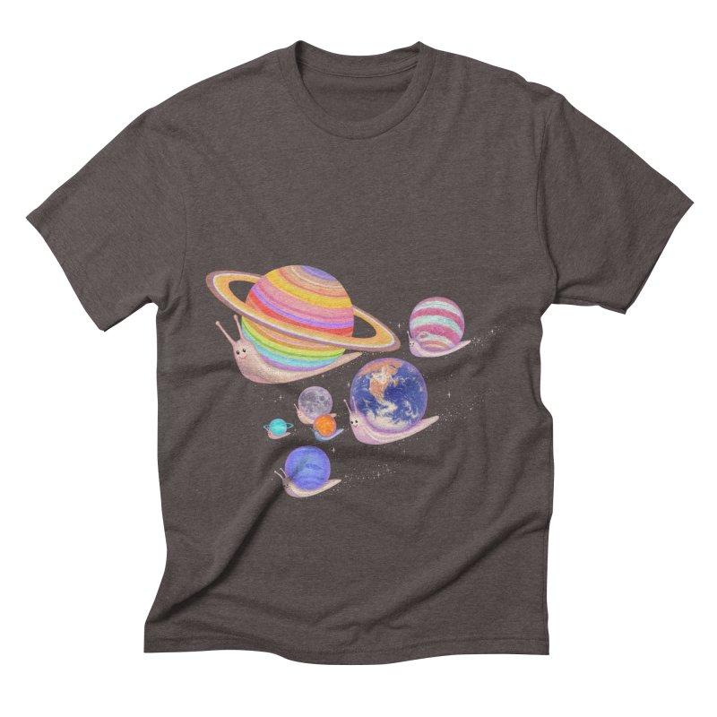 universe walk Men's Triblend T-shirt by makapa's Artist Shop