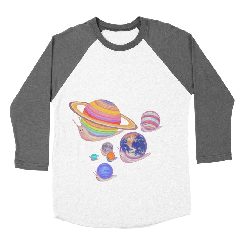 universe walk Women's Baseball Triblend T-Shirt by makapa's Artist Shop
