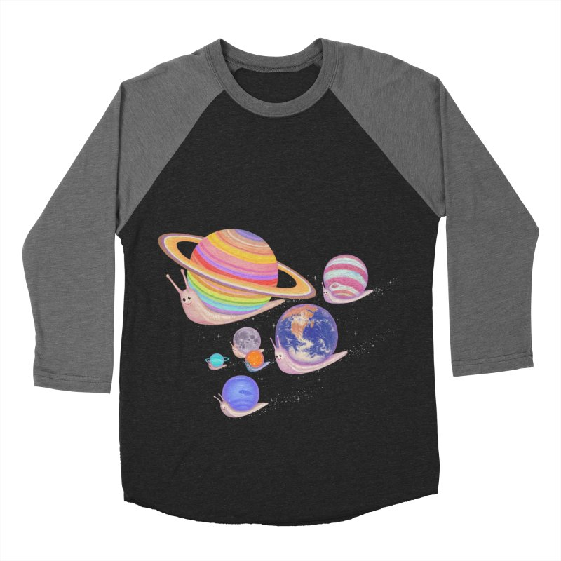 universe walk Men's Baseball Triblend T-Shirt by makapa's Artist Shop
