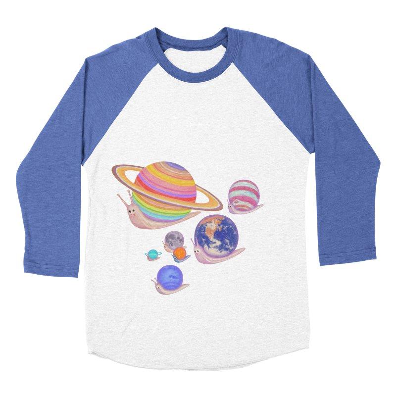 universe walk Men's Baseball Triblend T-Shirt by makapa's Artist Shop
