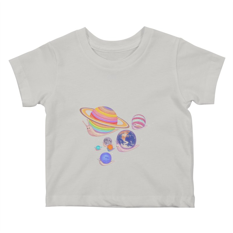 universe walk Kids Baby T-Shirt by makapa's Artist Shop