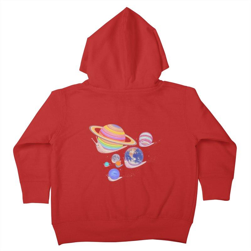 universe walk Kids Toddler Zip-Up Hoody by makapa's Artist Shop