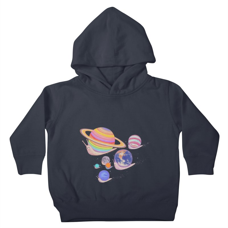 universe walk Kids Toddler Pullover Hoody by makapa's Artist Shop