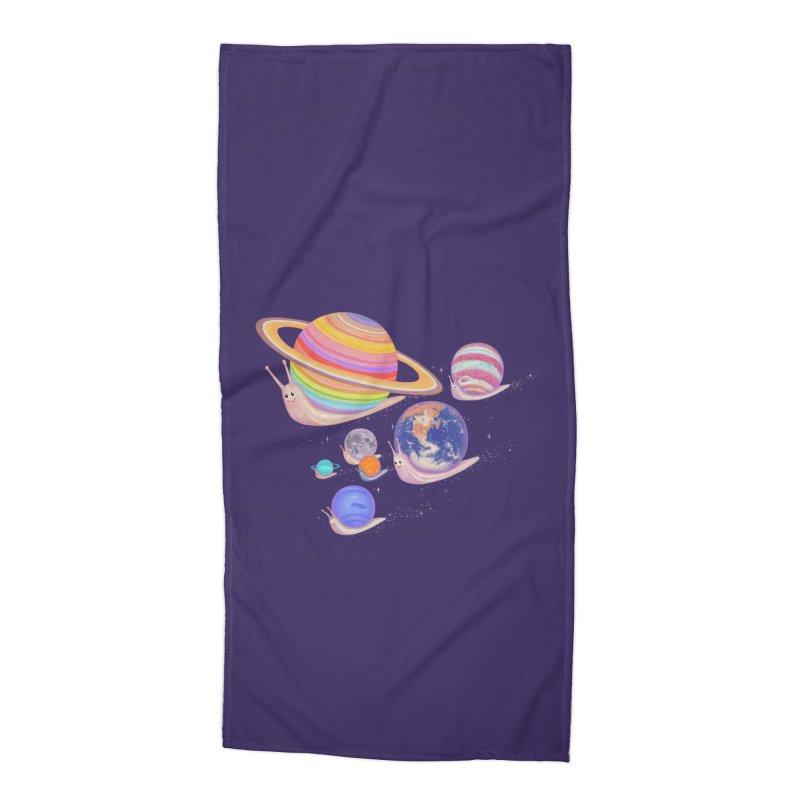 universe walk Accessories Beach Towel by makapa's Artist Shop
