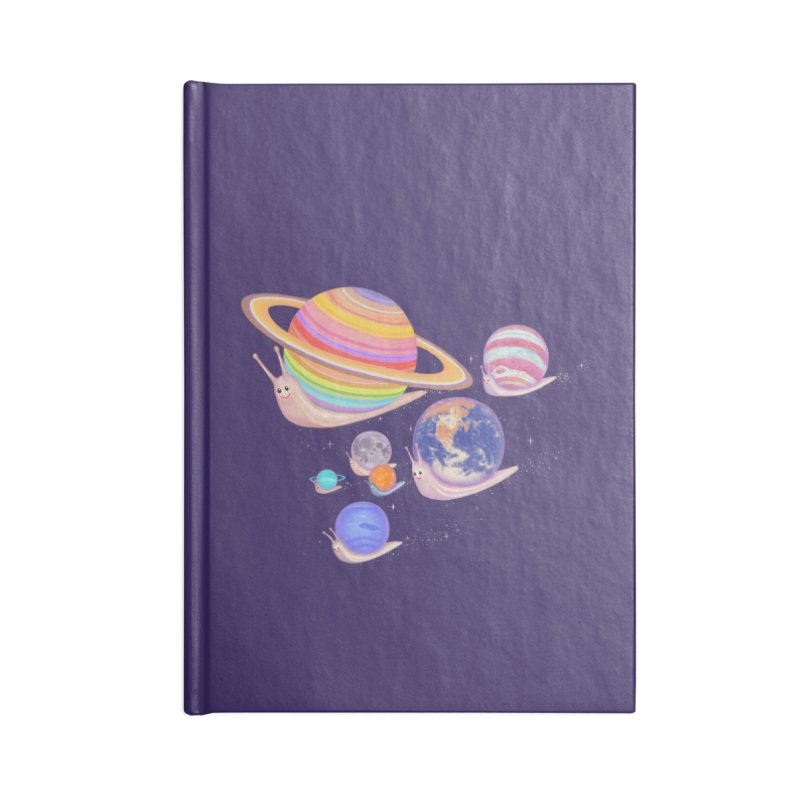 universe walk Accessories Notebook by makapa's Artist Shop