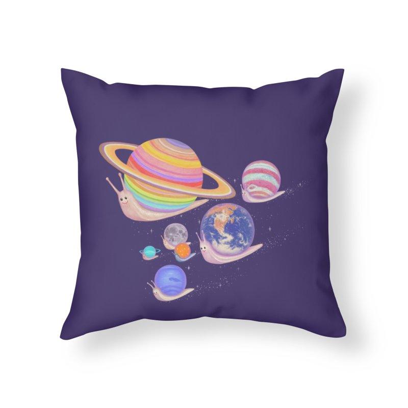 universe walk Home Throw Pillow by makapa's Artist Shop