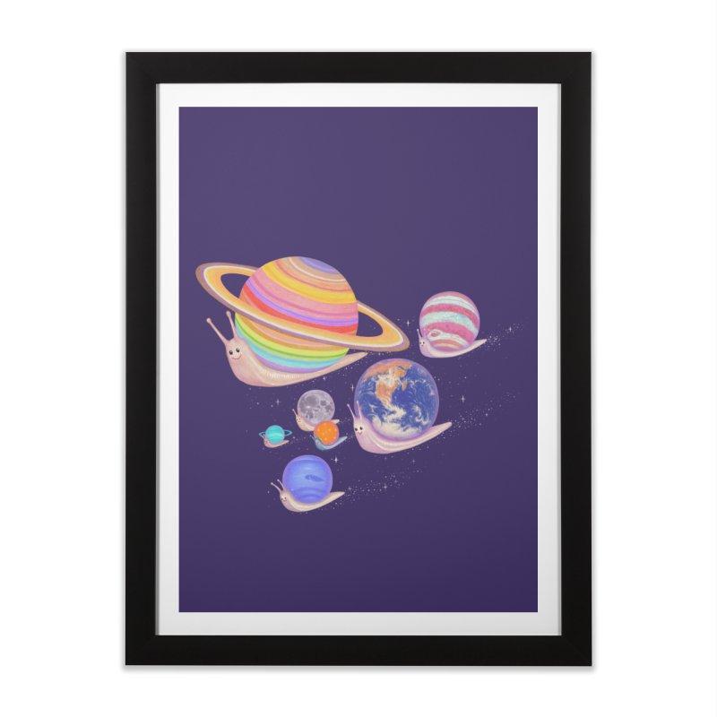 universe walk Home Framed Fine Art Print by makapa's Artist Shop