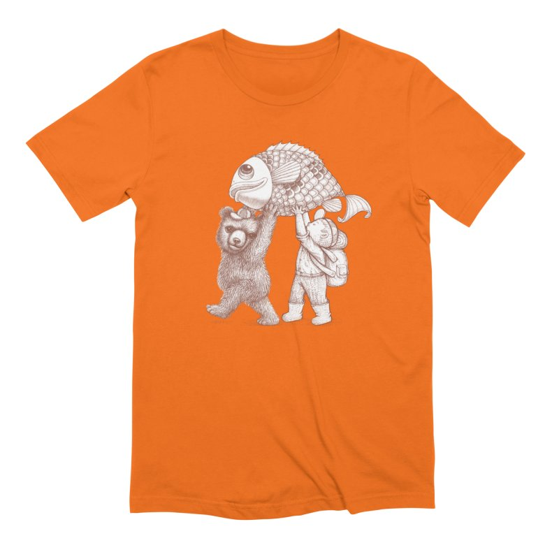 big fish Men's T-Shirt by makapa's Artist Shop