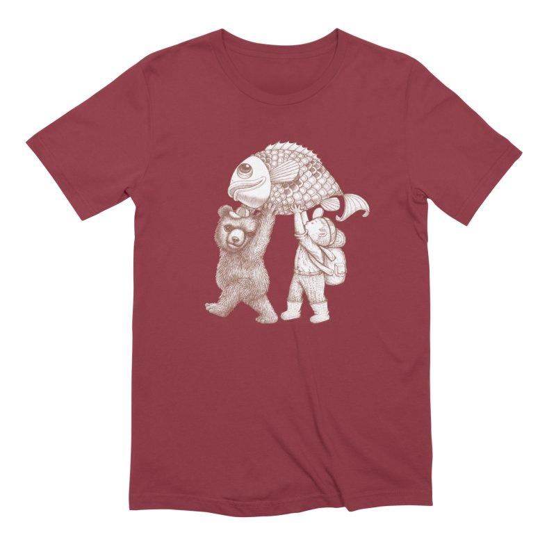 big fish Men's T-Shirt by makapa's Artist Shop