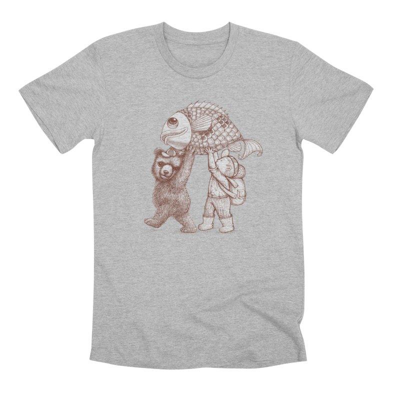 big fish Men's Premium T-Shirt by makapa's Artist Shop
