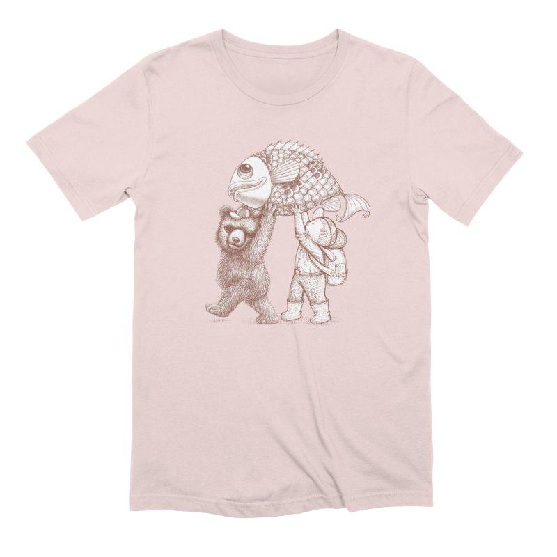 big fish Men's Extra Soft T-Shirt by makapa's Artist Shop
