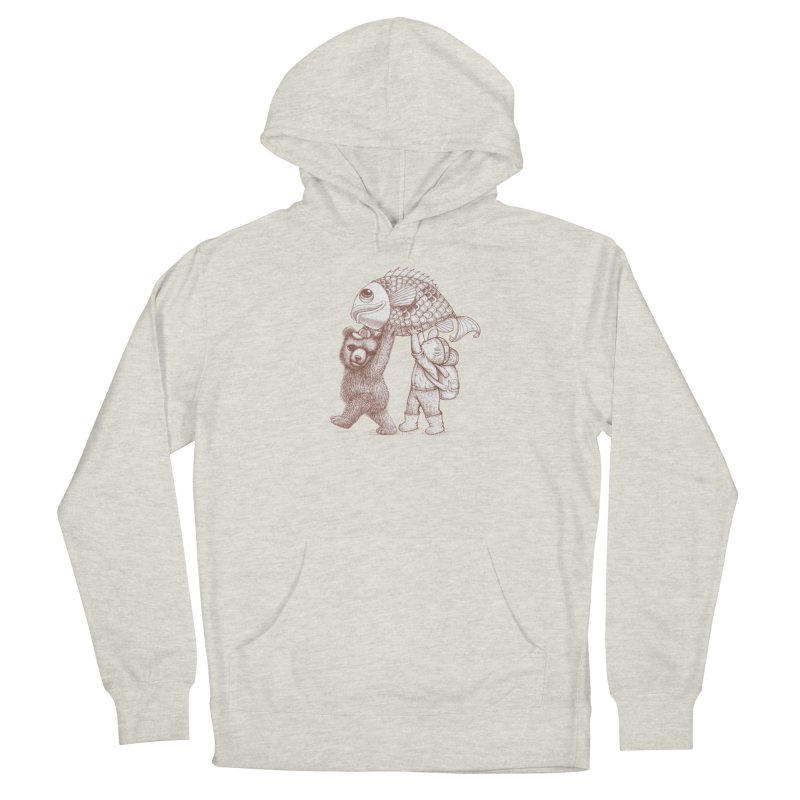 big fish Men's Pullover Hoody by makapa's Artist Shop