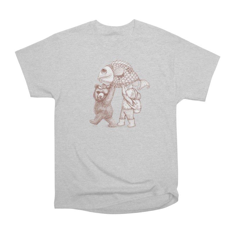 big fish Women's Heavyweight Unisex T-Shirt by makapa's Artist Shop