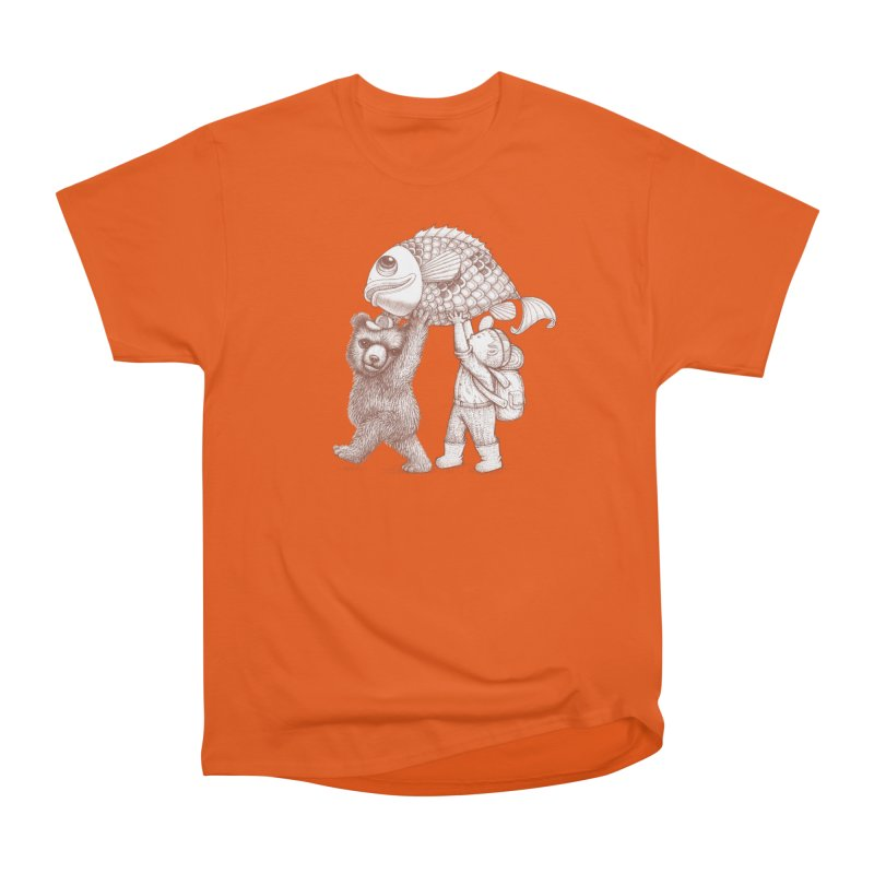 big fish Men's Heavyweight T-Shirt by makapa's Artist Shop