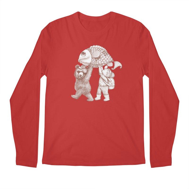 big fish Men's Regular Longsleeve T-Shirt by makapa's Artist Shop