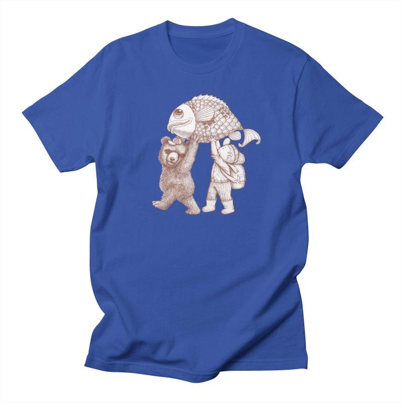 big fish Women's Regular Unisex T-Shirt by makapa's Artist Shop