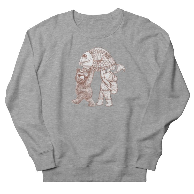 big fish Women's French Terry Sweatshirt by makapa's Artist Shop